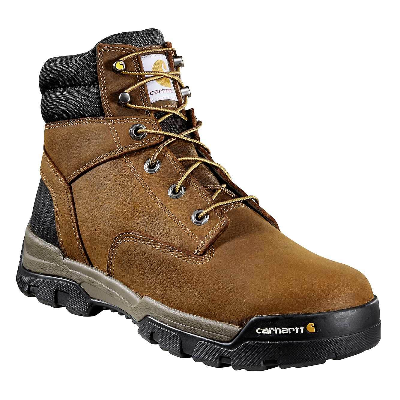 Picture of Ground Force 6-Inch Non-Safety Toe Work Boot in Brown Oil Tanned