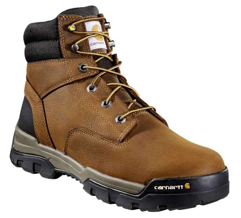 Carhartt  Brown Oil Tanned Ground Force 6-Inch Non-Safety Toe Work Boot