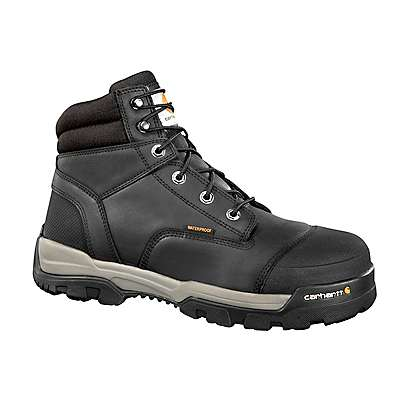 Carhartt Men's Black Ground Force 6-Inch Composite Toe Work Boot - front