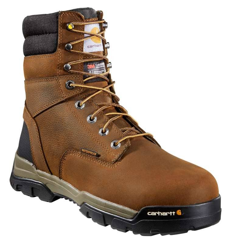 Carhartt  Brown Oil Tanned Ground Force 8-Inch Composite Toe Work Boot