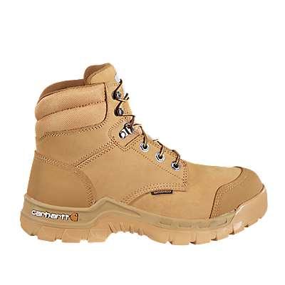 Carhartt Men's WHEAT NUBUCK Rugged Flex® 6-Inch Non-Safety Toe Work Boot