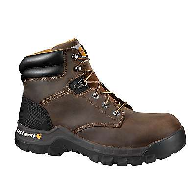 Carhartt Men's BROWN OIL TANNED Rugged Flex® 6-Inch Non-Safety Toe Work Boot