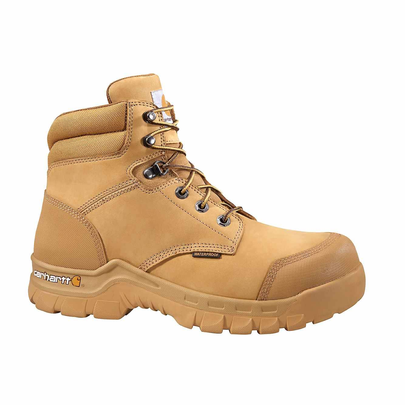 Picture of Rugged Flex® 6-Inch Composite Toe Work Boot in Wheat Nubuck