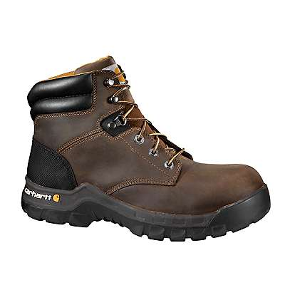 Carhartt Men's Brown Oil Tanned Rugged Flex® 6-Inch Composite Toe Work Boot - front