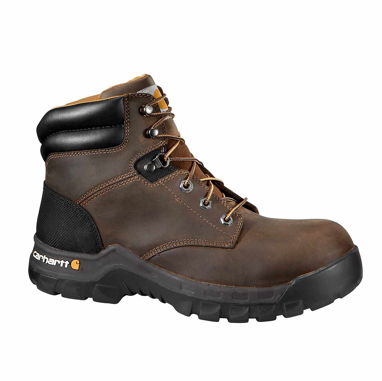 Picture of Rugged Flex® 6-Inch Composite Toe Work Boot in Brown Oil Tanned
