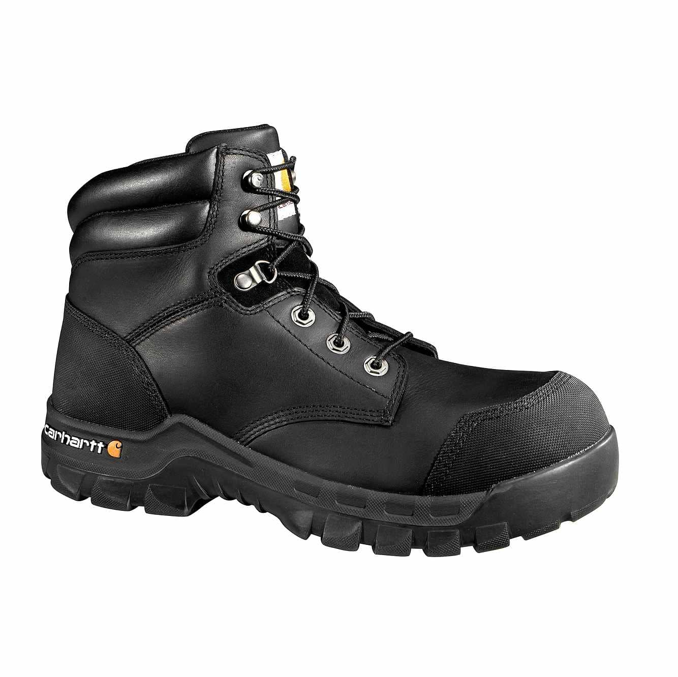 Picture of Rugged Flex® 6-Inch Composite Toe Work Boot in Black Oil Tanned