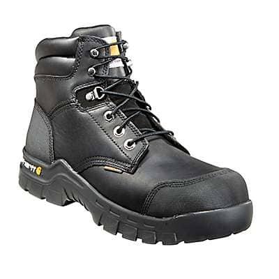 Carhartt Men's Black Rugged Flex® 6-Inch Composite Toe Work Boot