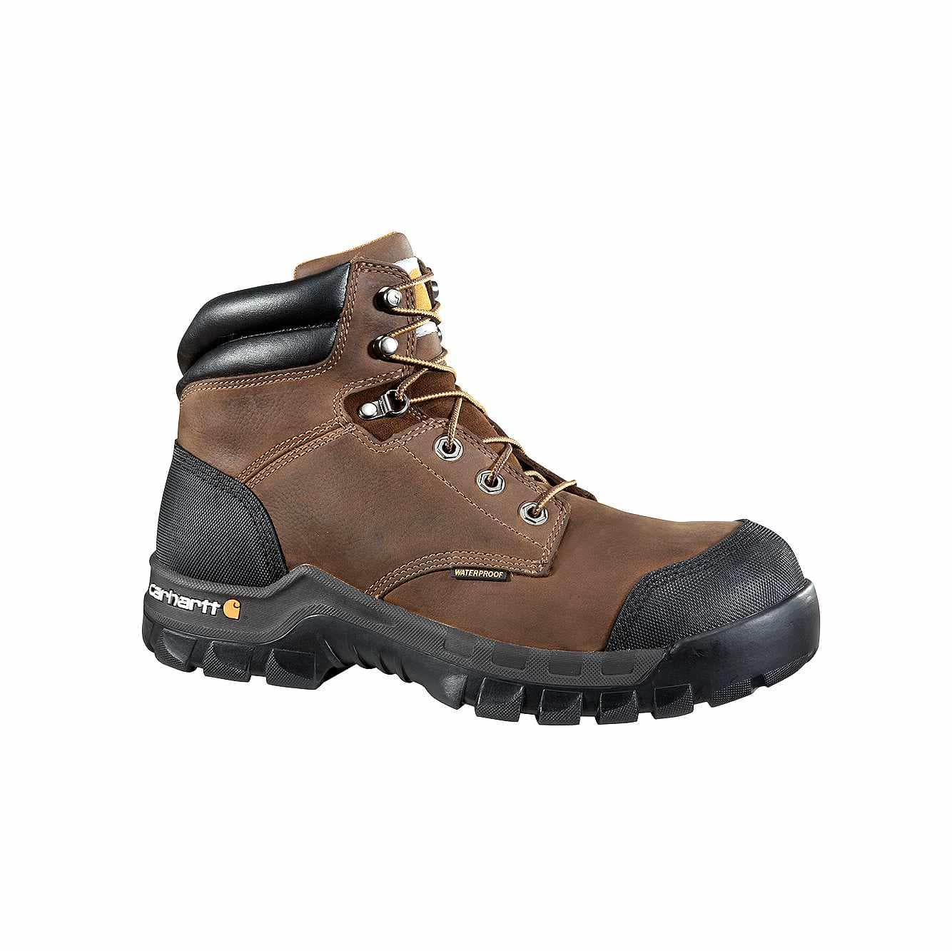 Picture of Rugged Flex® 6-Inch Composite Toe Work Boot in DK Brown Oil Tanned