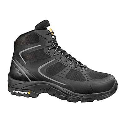 Carhartt Men's Black Lightweight Steel Toe Work Hiker Boot - front