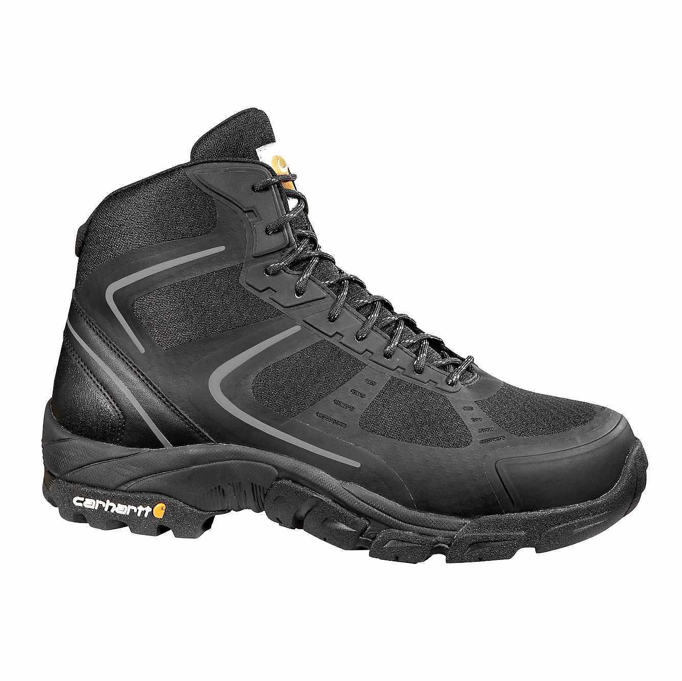 Picture of Lightweight Steel Toe Work Hiker Boot in Black