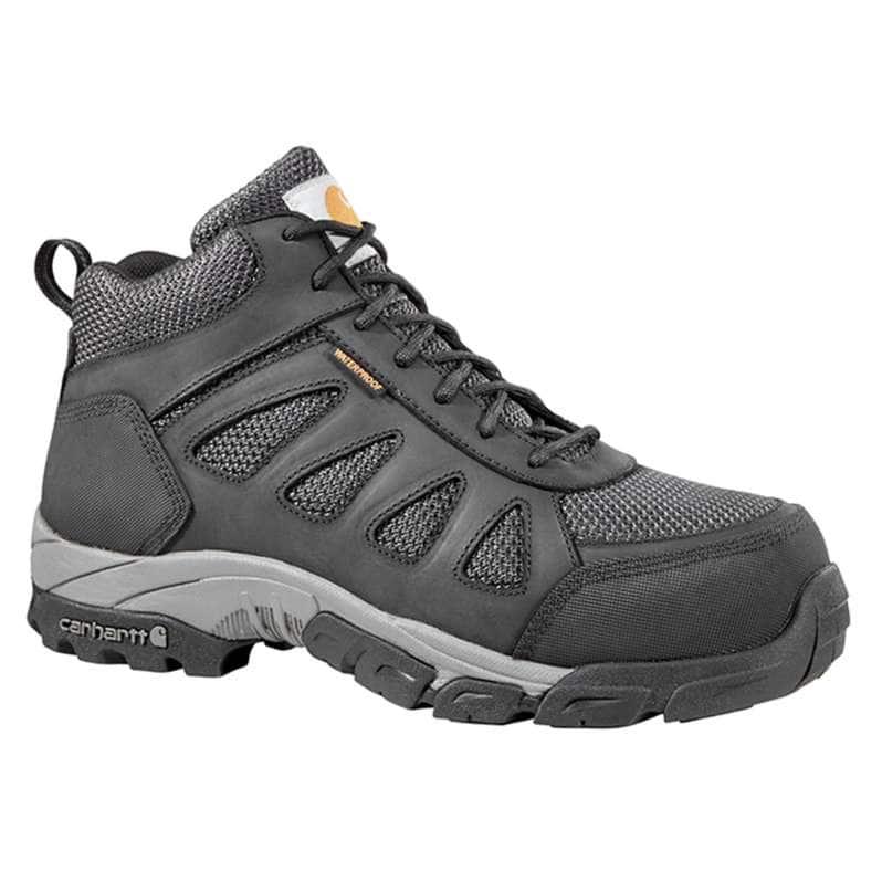Carhartt  Black Lightweight Carbon Nano Toe Work Hiker