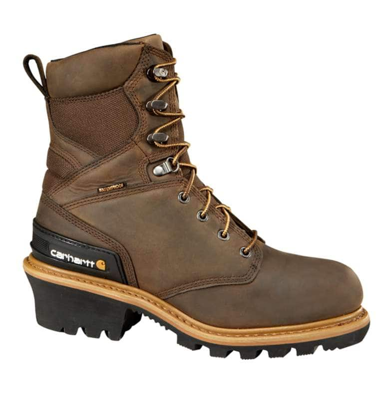 Carhartt  CRAZY HORSE BROWN OIL TANNED 8-Inch Insulated Composite Toe Climbing Boot