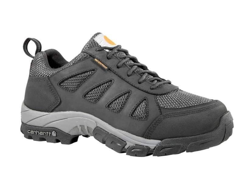 Carhartt  Black Lightweight Low Carbon Nano Toe Work Hiker