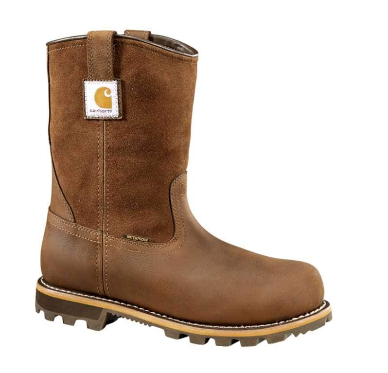 Carhartt  DK BROWN OIL TANNED 10-Inch Non-Safety Toe Wellington