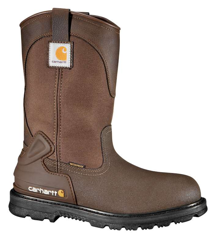 Carhartt  CRAZY HORSE BROWN OIL TANNED 11-Inch Steel Toe Wellington Boot