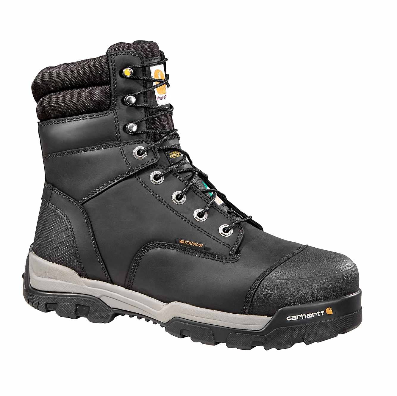 Picture of Ground Force 8-Inch Insulated Composite Toe CSA Work Boot in Black