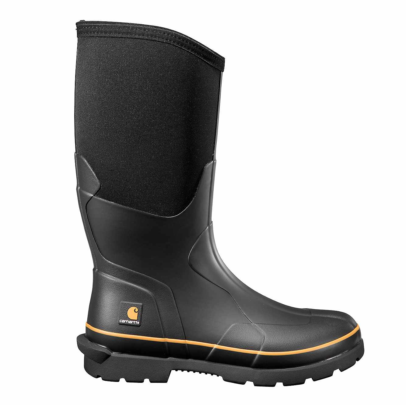 Picture of Mudrunner 15-Inch Carbon Nano Toe Rubber Boot in Black