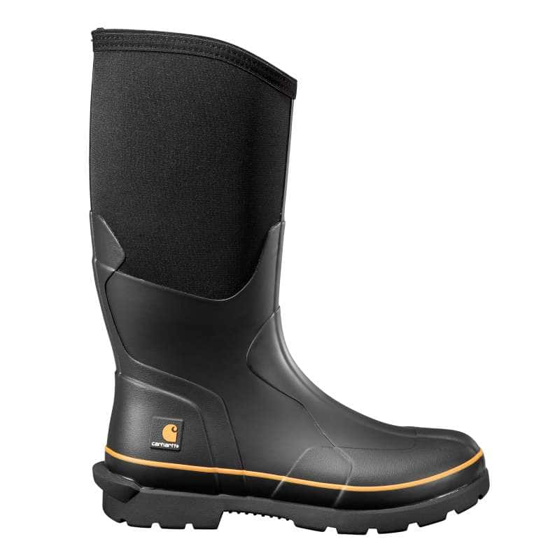 Carhartt  Black Mudrunner 15-Inch Carbon Nano Toe Rubber Boot