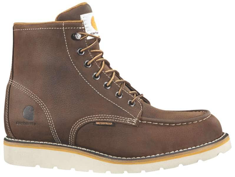 Carhartt  DK BROWN OIL TANNED 6-Inch Non-Safety Toe Wedge Boot