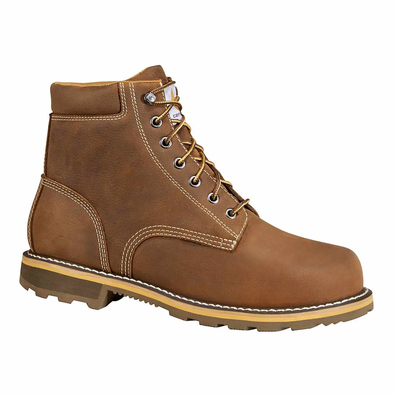 Picture of 6-Inch Non-Safety Toe Work Boot in Brown Oil Tanned