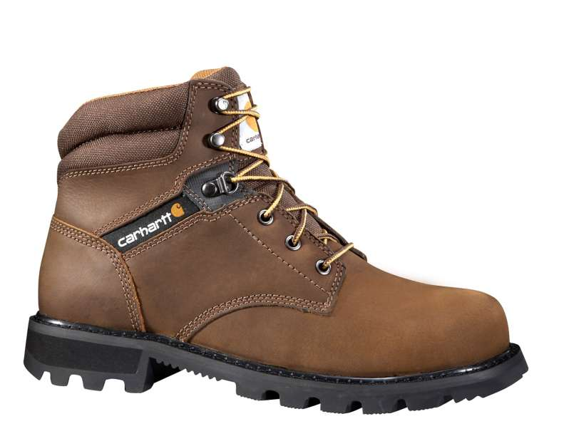 Carhartt  CRAZY HORSE BROWN OIL TANNED 6-Inch Steel Toe Work Boot