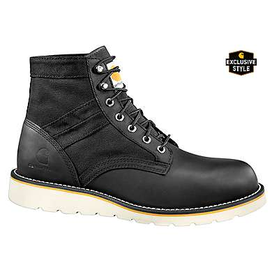 Carhartt Men's Black 6-Inch Lightweight Work Boot - front