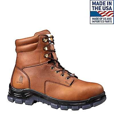 Carhartt Men's Brown Made in the USA 8-Inch Non-Safety Toe Work Boot - front
