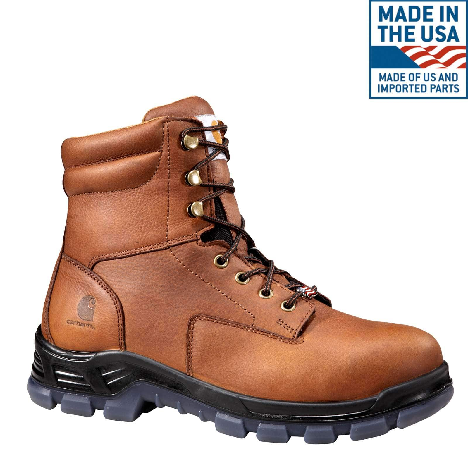 Carhartt's Composite Toe Work Boot (Work boots made in the USA, American-made.)