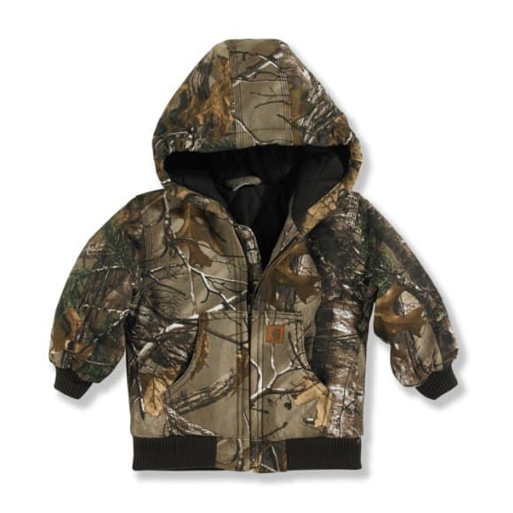 Carhartt Boys  Realtree Xtra Realtree Xtra® Camo Active Jac Flannel  Quilt-Lined ... 61c80416564