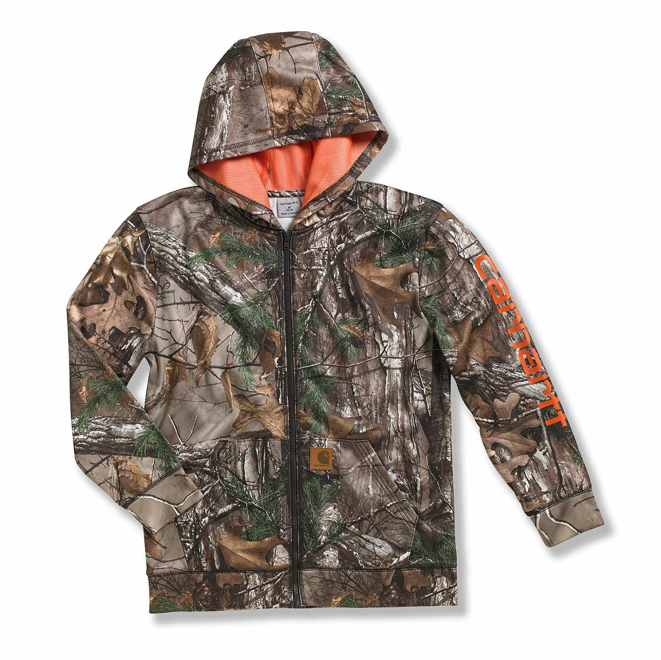 Picture of Packable Work Camo Hooded Rain Jacket in Realtree Xtra