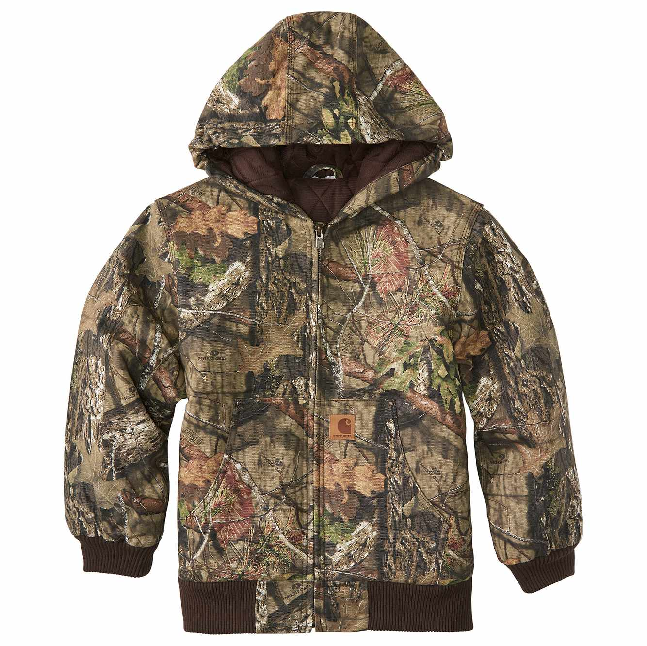 Picture of Mossy Oak® Camo Active Jac Flannel Quilt-Lined in Mossy Oak
