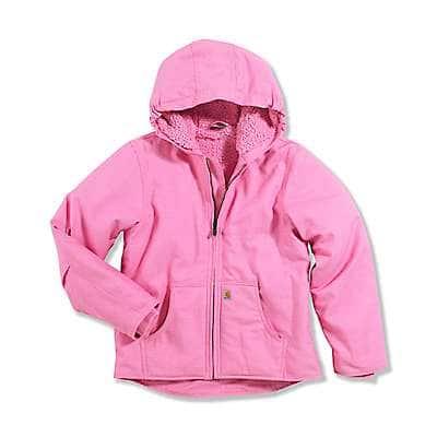 Carhartt Kid's Rosebloom Redwood Jacket Sherpa Lined