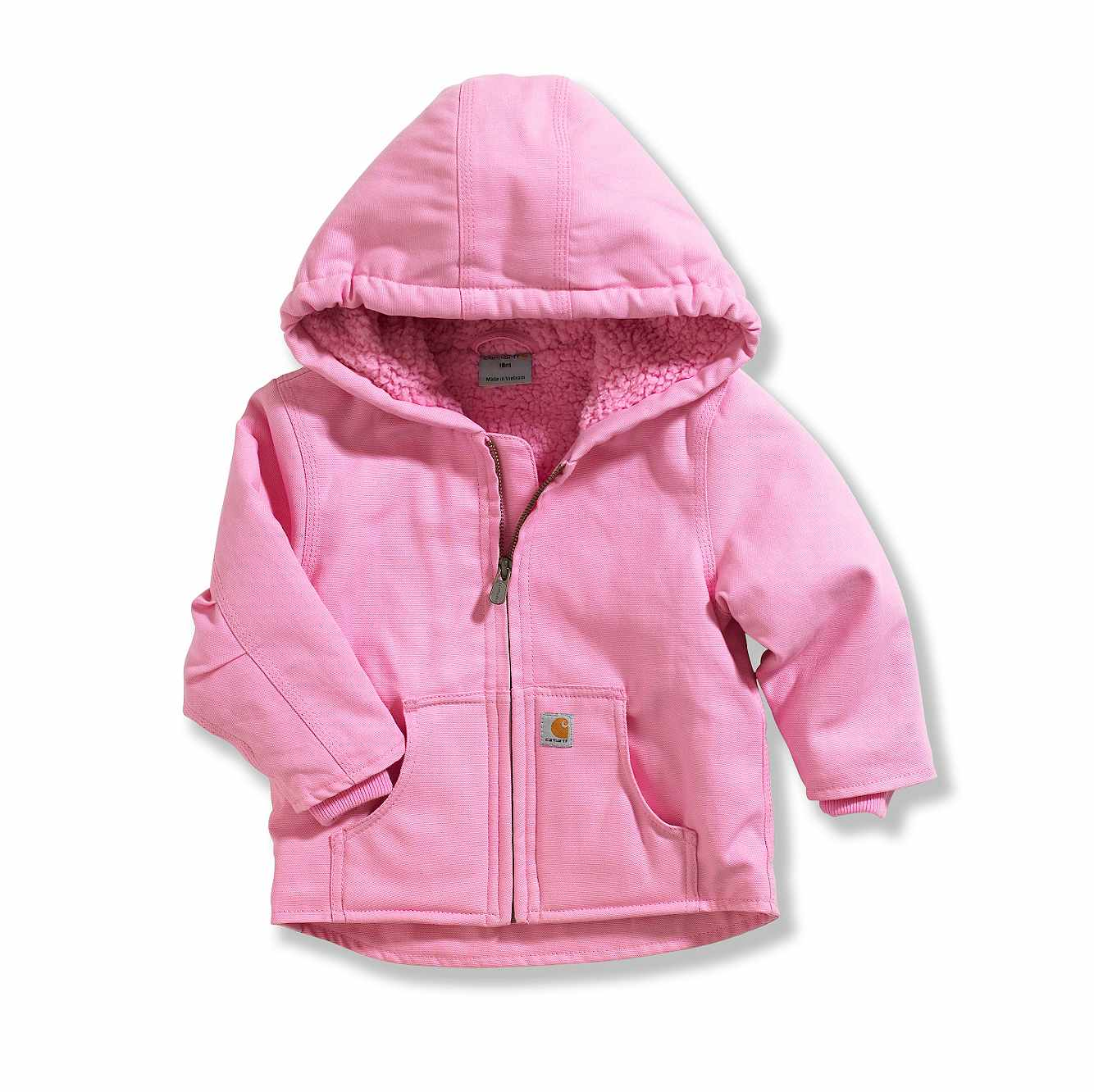 Picture of Redwood Jacket Sherpa Lined in Rose Bloom