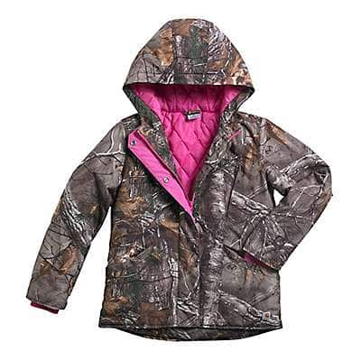 Carhartt Girls' Realtree Xtra Camo Mountain View Jacket - front