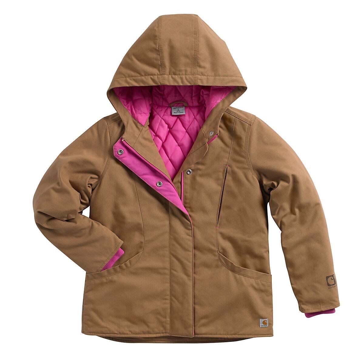76bb5943f Girls' Girls' Quick Duck® Mountain View Jacket CP9501 | Carhartt