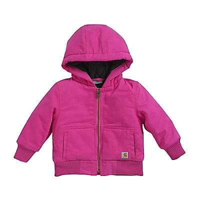 Carhartt Girls' Raspberry Wildwood Jacket - front
