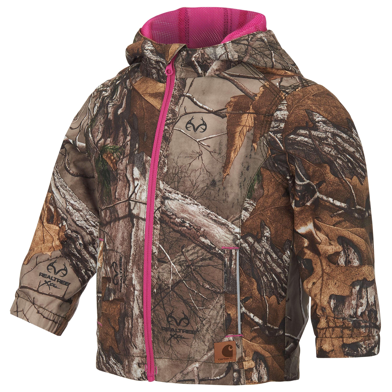 9bcff81661 Girls  Realtree Xtra® Packable Rain Jacket CP9520