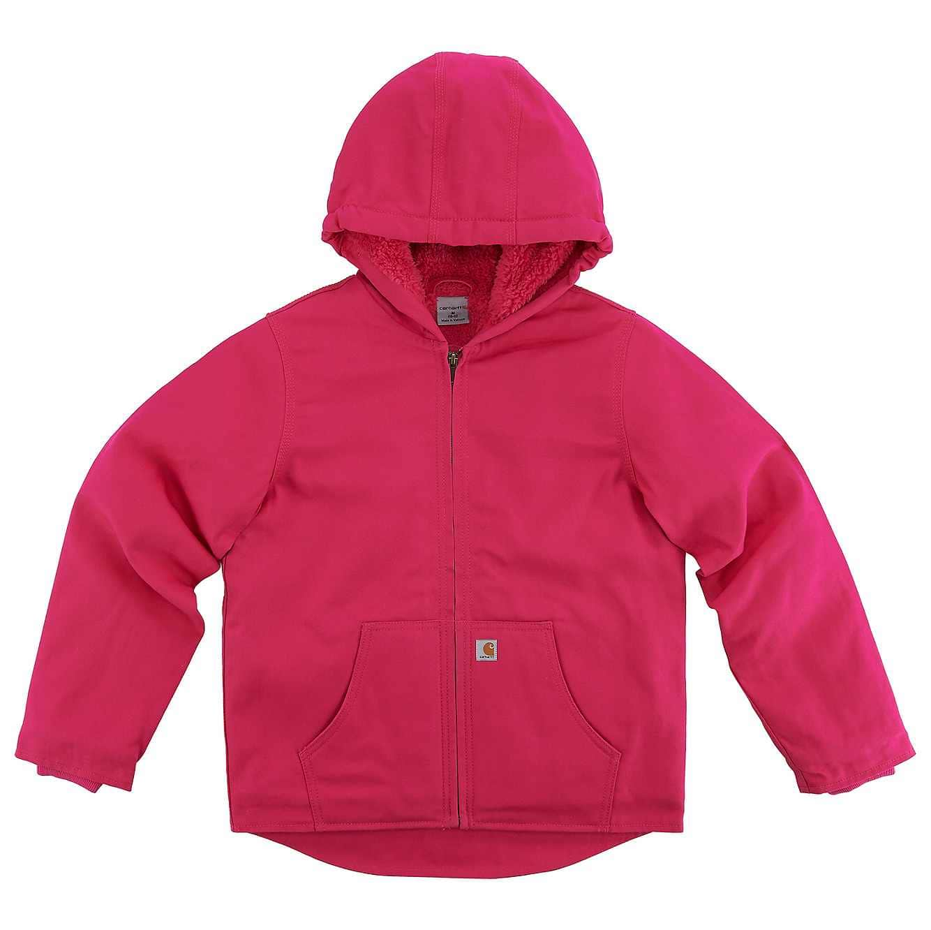Picture of Redwood Jacket Sherpa Lined in Pink Peacock