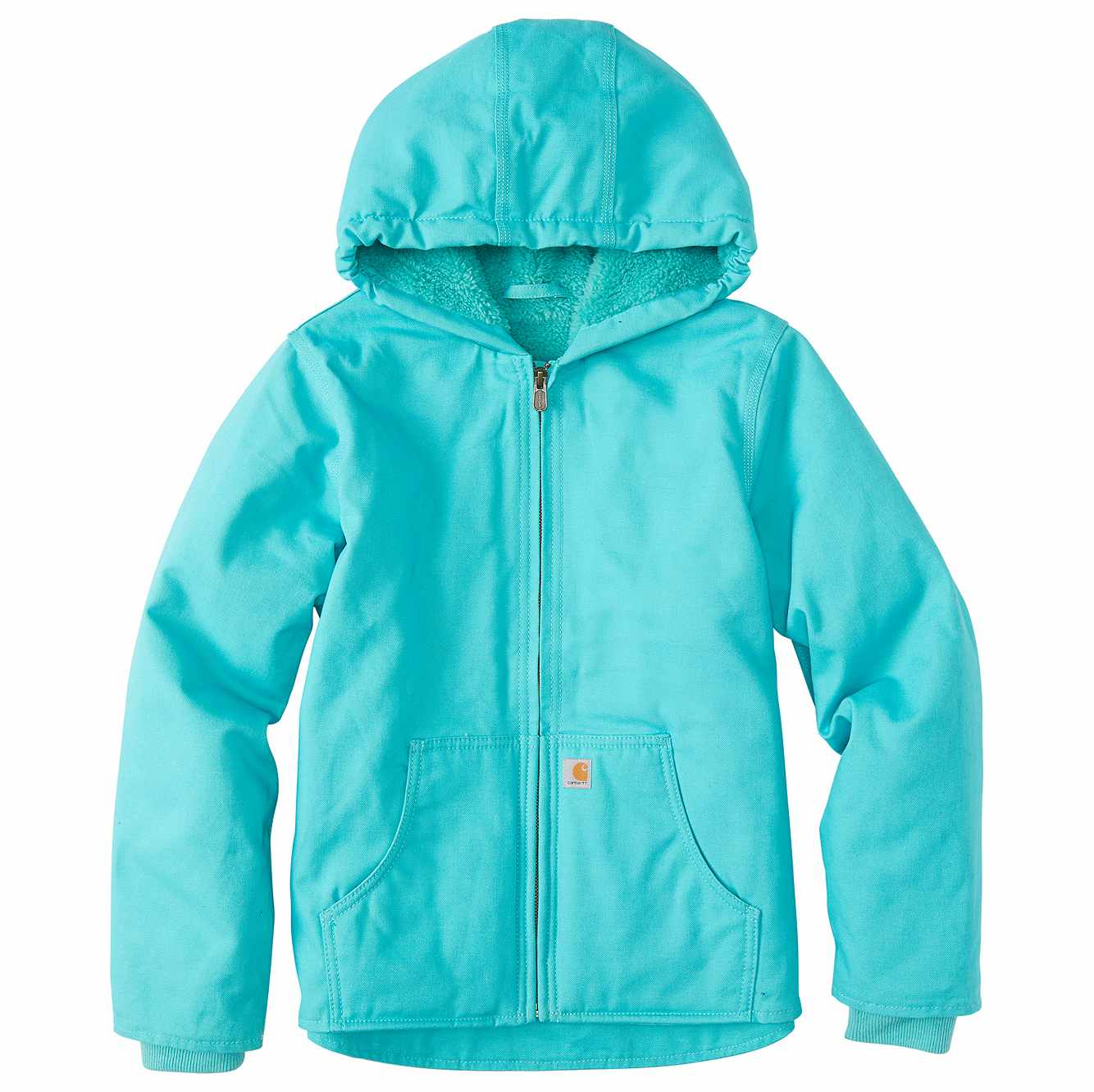 Picture of Redwood Jacket Sherpa Lined in Blue Turquoise