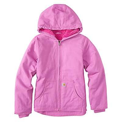 Carhartt Girls' Bodacious Redwood Jacket Sherpa Lined - front