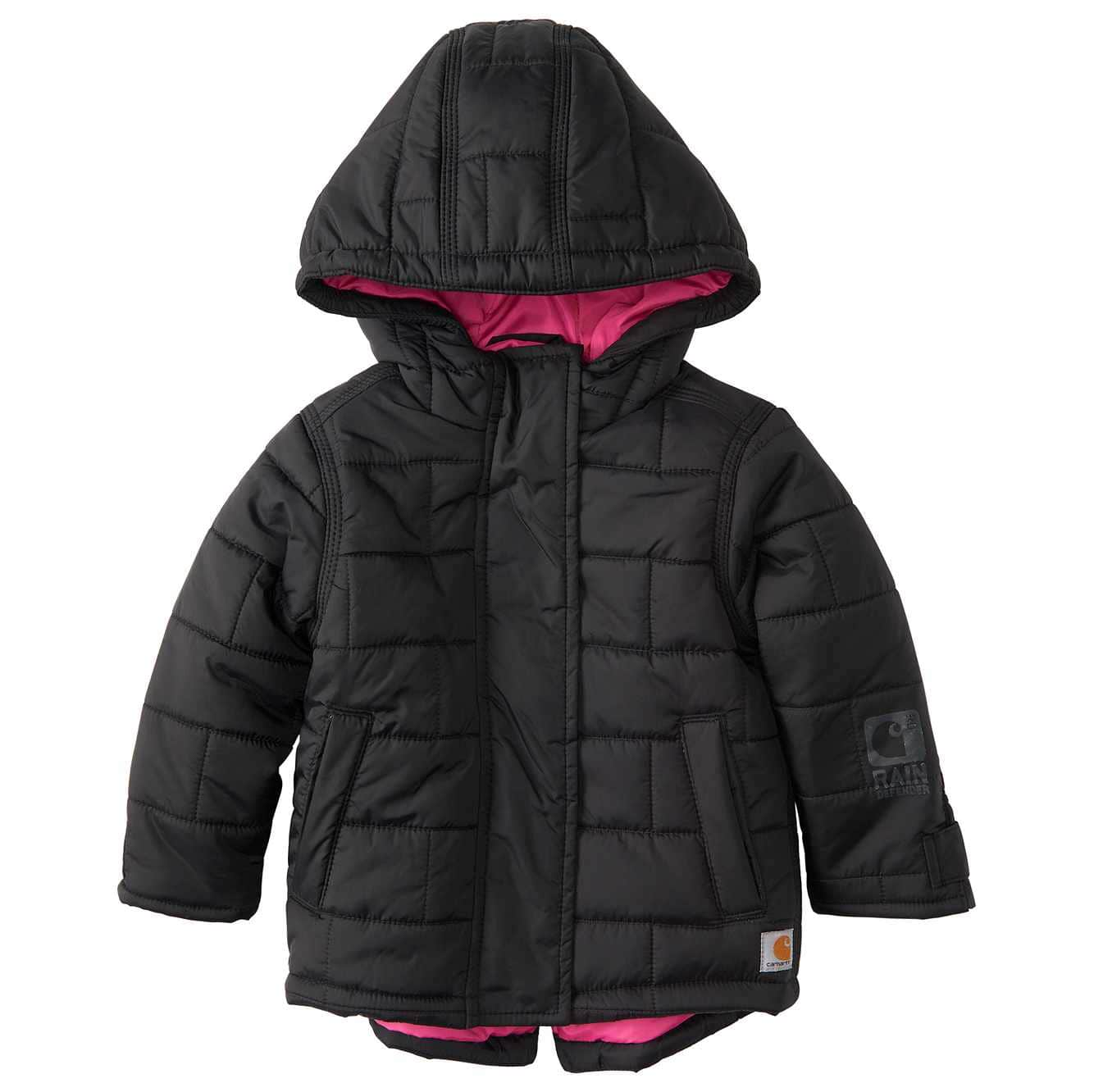 Picture of Amoret Quilted Jacket in Car Black