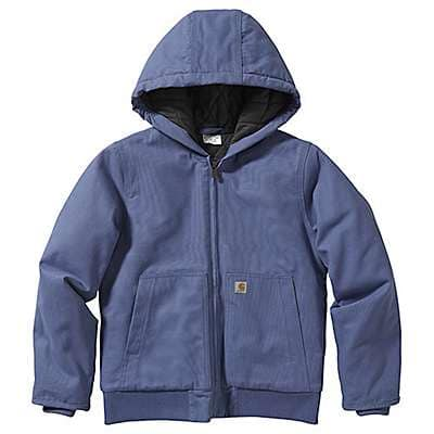 Carhartt Kid's Marlin Long Sleeve Active Jac Flannel Quilt Lined