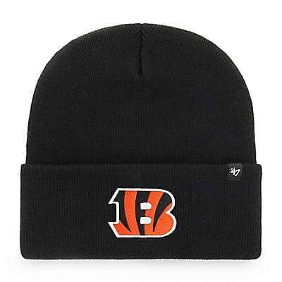 Carhartt  Black Cincinnati Bengals Carhartt X '47 Cuff Knit - front
