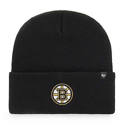 Carhartt  Black Boston Bruins Carhartt x '47 Cuff Knit - front