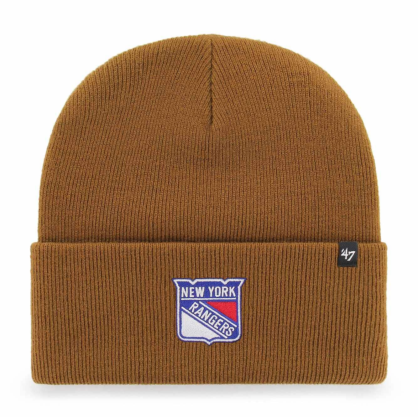 Picture of New York Rangers Carhartt x '47 Cuff Knit in Carhartt Brown