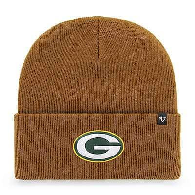 Carhartt  Carhartt Brown Green Bay Packers Carhartt x '47 Cuff Knit - front