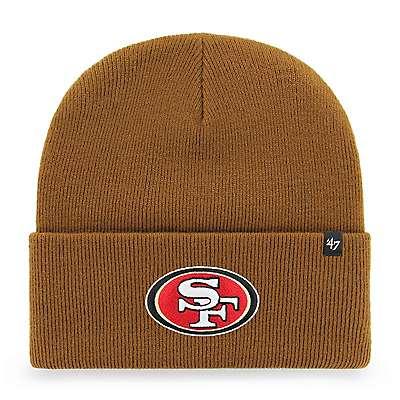 buy popular baffd 16b53 Carhartt Men s Carhartt Brown San Francisco 49ers Carhartt x  47 Cuff Knit  - front ...