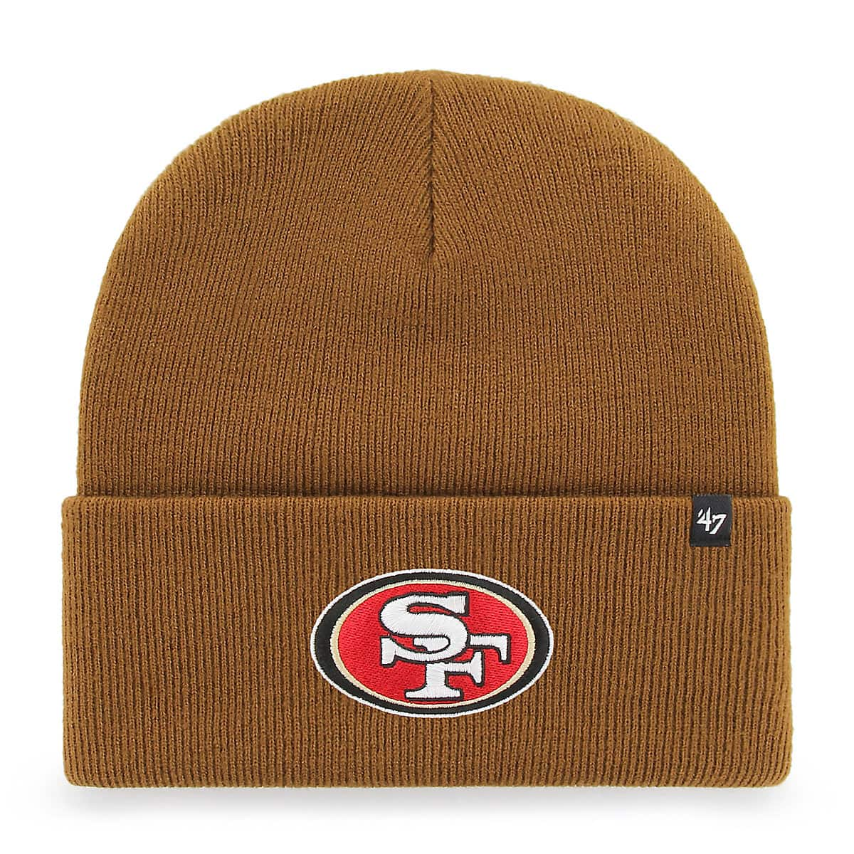 Men s San Francisco 49ers Carhartt x  47 Cuff Knit CRKTN27  c00be3710
