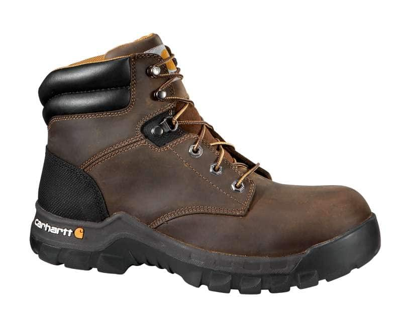Carhartt  BROWN OIL TANNED Rugged Flex® 6-Inch Composite Toe Work Boot