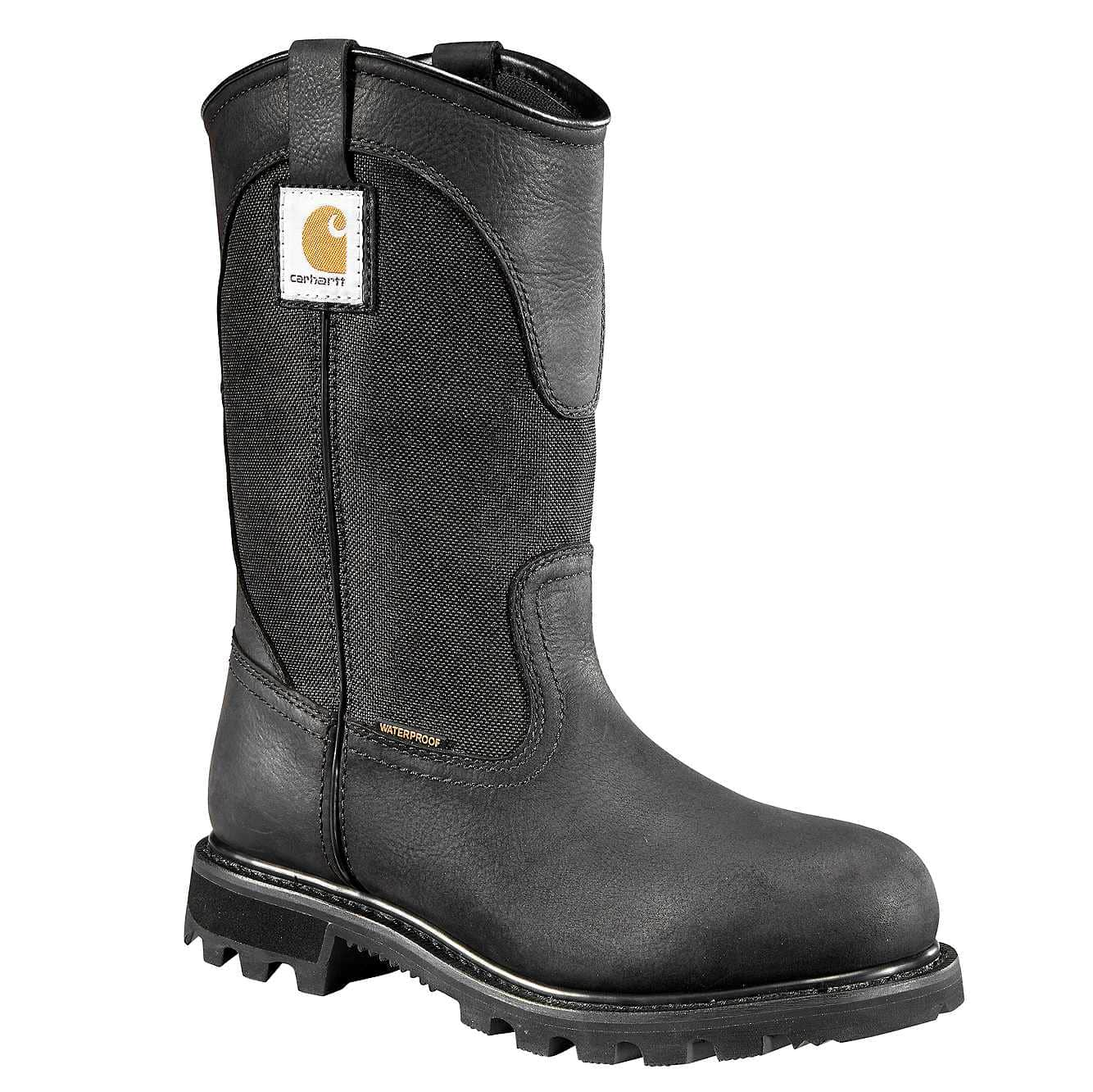 Picture of 10-Inch Non-Safety Toe Wellington Boot in Black